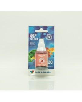 Barwnik w płynie CZERWONY 20 ml Food Colours