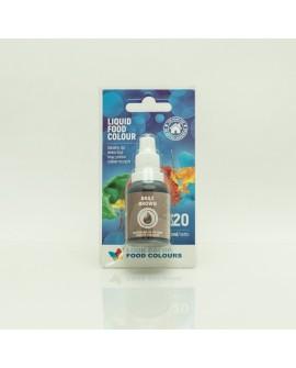 Barwnik w płynie BRĄZOWY 20 ml Food Colours