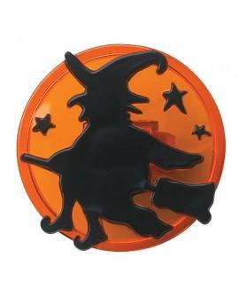 Pikery pierścionki CZAROWNICA Halloween 6 szt.