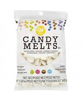 Dropsy czekoladowe Wilton Candy Melts ŚNIEŻNOBIAŁE