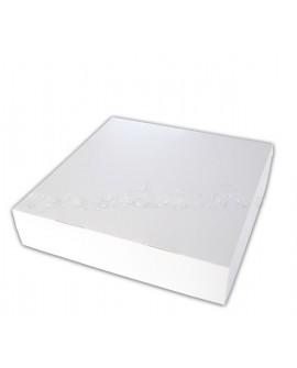 Opakowanie 27x27x6 cm cm pudełko na tartę