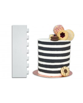 Skrobka dekoracyjna PME PASKI akryl 25 cm Stripes