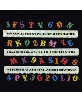 Wykrawaczki FMM duże litery i cyfry CARNIVAL Alfabet