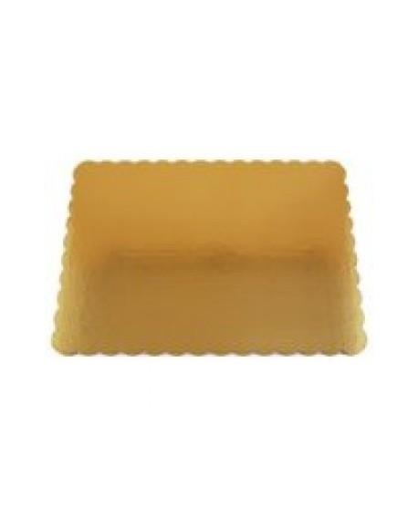 Podkład pod tort złoty prostokąt gruby 30x40 cm