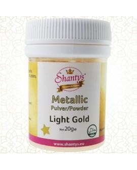 Barwnik pyłkowy Shantys Light Gold 20g JASNE ZŁOTO