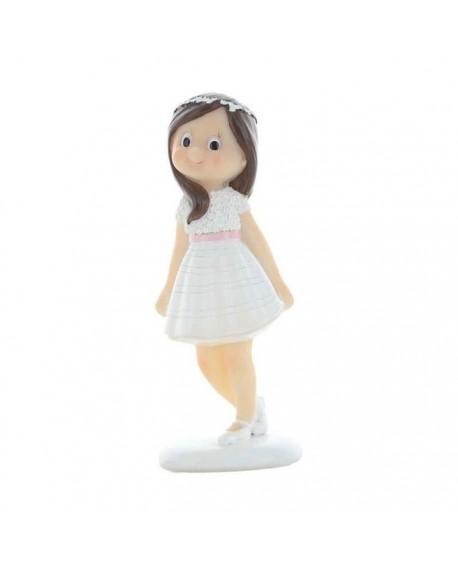 Figurka KOMUNIA Dziewczynka 12 cm