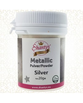 Barwnik pyłkowy Shantys Silver 20g SREBRO