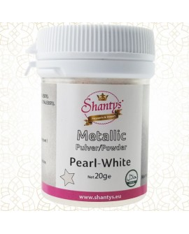 Barwnik pyłkowy Shantys Pearl White 20g BIAŁY PERŁOWY