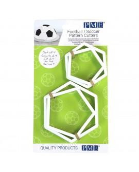 Foremki do piłki nożnej PME Piłka 2 rozmiary