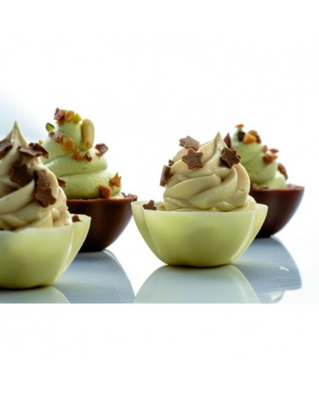 Forma na czekoladowe miseczki 15 szt.