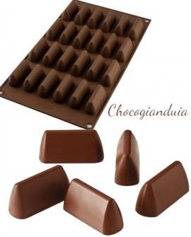 Forma silikonowa PRALINKI Choco Gianduia Silikomart Czekoladki