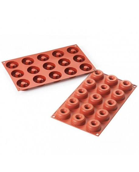 Forma silikonowa MINI DONUTY 4,5 cm