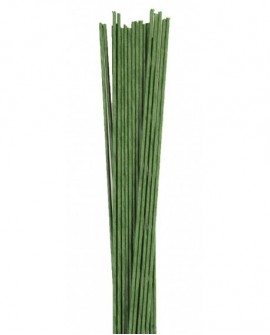 Druty florystyczne ZIELONE rozmiar 28