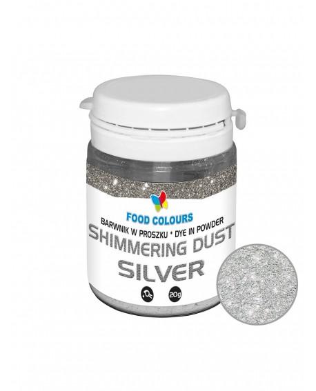 Barwnik pyłkowy FC Shimmer SREBRNY 20 g