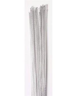 Druty florystyczne SREBRNE rozmiar 24