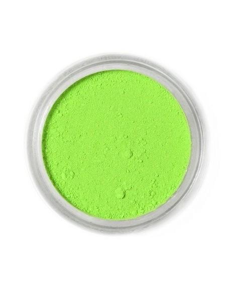 Barwnik pyłkowy MATOWY Fractal Citrus Green ZIELEŃ CYTRUSOWA