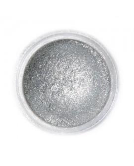 Barwnik pyłkowy PERŁOWY Fractal Sparkling Dark Silver