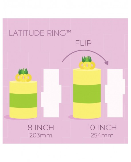 Skrobka dekoracyjna PME Ozdobny Pierścień Tort 20 i 25 cm