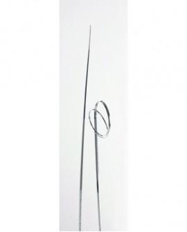 Trawa dekoracyjna 42,5 cm  SREBRNA
