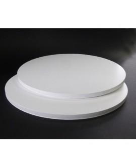 Podkład pod tort APrint 10 mm Biały 22 cm