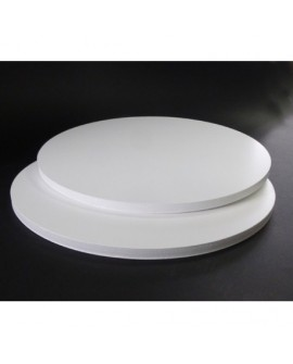 Podkład pod tort APrint 10 mm Biały 36 cm