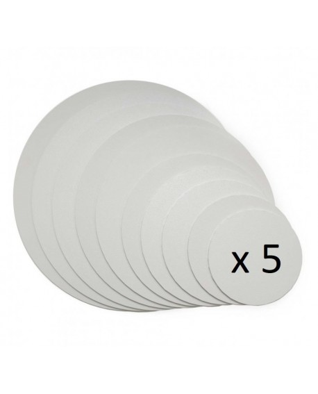 Podkład pod tort APrint 3 mm Biały 18 cm x 5