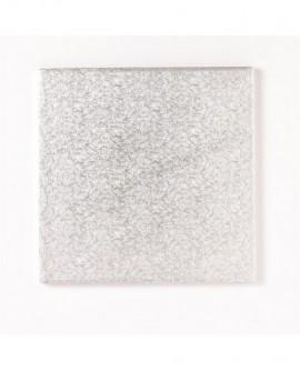 Podkład pod tort 12 mm SZTYWNY kwadratowy 25 cm