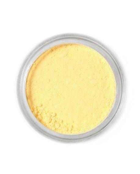 Barwnik pyłkowy MATOWY Fractal Light Yellow JASNY ŻÓŁTY