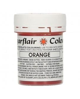 Barwnik do czekolady Sugarflair POMARAŃCZOWY