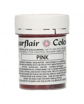 Barwnik do czekolady Sugarflair RÓŻOWY