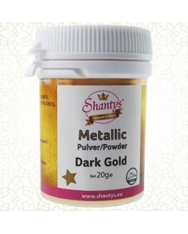 Barwnik pyłkowy Shantys Dark Gold 20g CIEMNE ZŁOTO