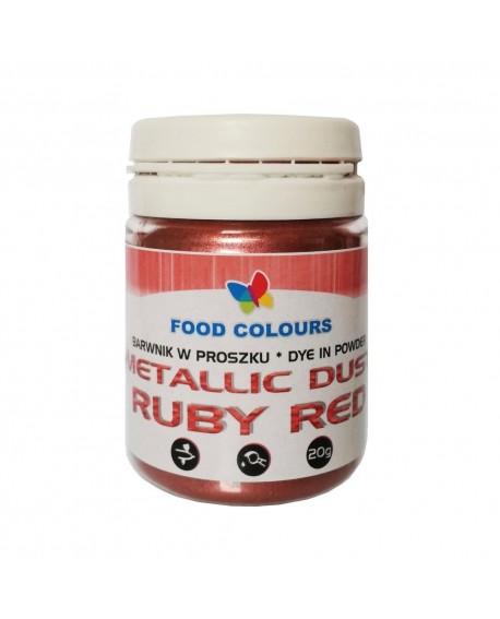 Barwnik pyłkowy FC Metallic RUBINOWY 20 g