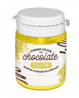 Barwnik do czekolady ŻÓŁTY 20g FC do mas tłustych