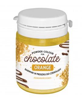 Barwnik do czekolady POMARAŃCZOWY 20g FC do mas tłustych
