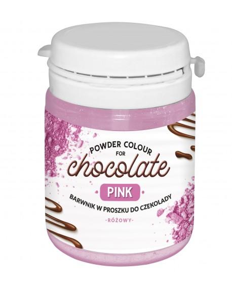 Barwnik do czekolady RÓŻOWY 10g FC do mas tłustych