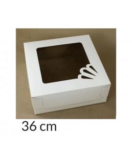 Opakowanie 36x36x15 cm Białe pudełko