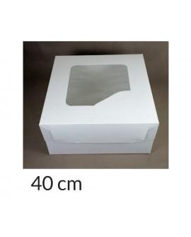 Opakowanie 40x40x20 cm Białe pudełko