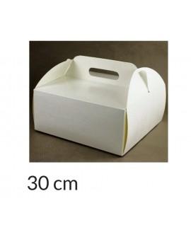 Opakowanie KOSZYCZEK 30x30x12 cm Białe pudełko