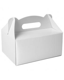 Pudełko na ciasto 19x14 cm BIAŁE 10 szt.