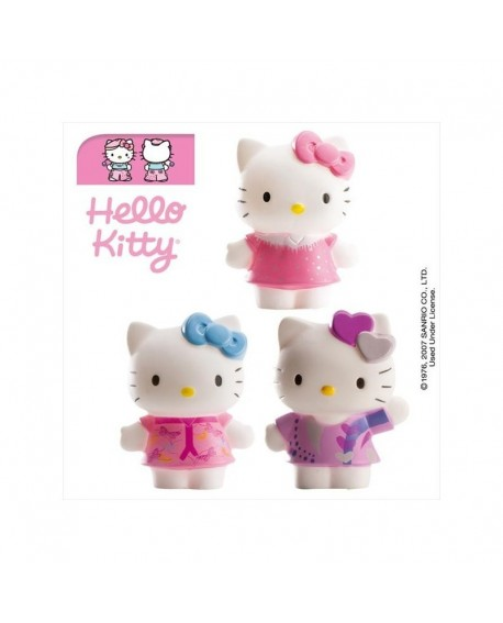 Figurka na tort HELLO KITTY 1 sztuka
