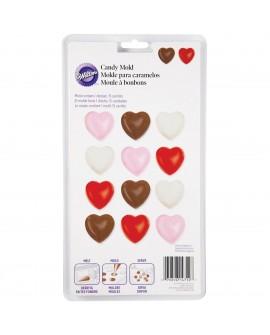 Forma na czekoladki Wilton SERDUSZKA Serca