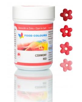 Barwnik w żelu Food Colours CZERWONY