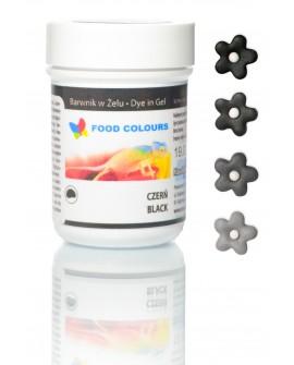 Barwnik w żelu Food Colours CZARNY
