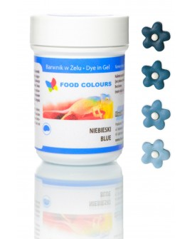 Barwnik w żelu Food Colours NIEBIESKI
