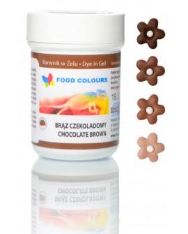Barwnik w żelu Food Colours BRĄZ CZEKOLADOWY