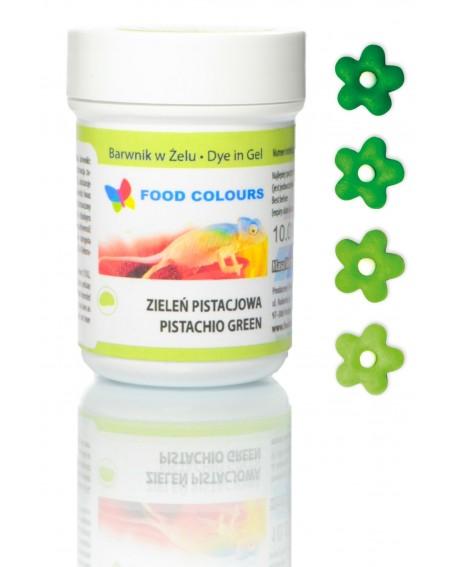 Barwnik w żelu Food Colours ZIELONY PISTACJOWY