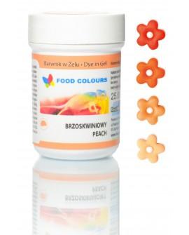 Barwnik w żelu Food Colours BRZOSKWINIOWY