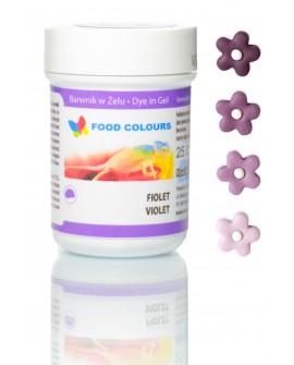 Barwnik w żelu Food Colours FIOLETOWY