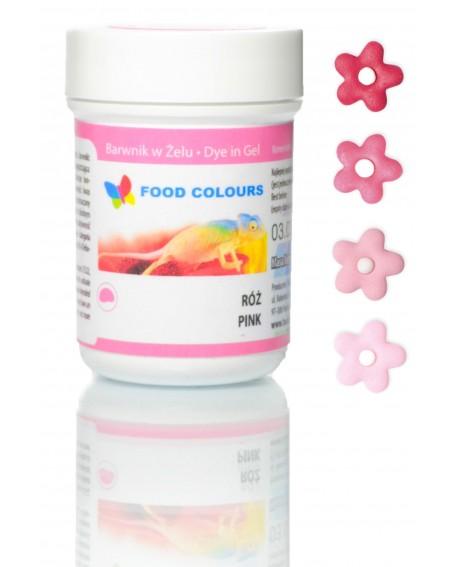 Barwnik w żelu Food Colours RÓŻOWY