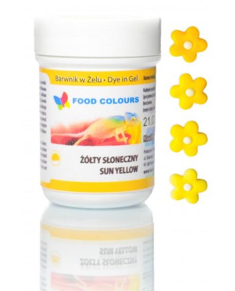 Barwnik w żelu Food Colours ŻÓŁTY SŁONECZNY